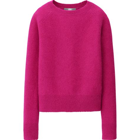 Uniqlo Sweatshirt Vintage Sweater 1 uniqlo mohair blend sweater in pink lyst