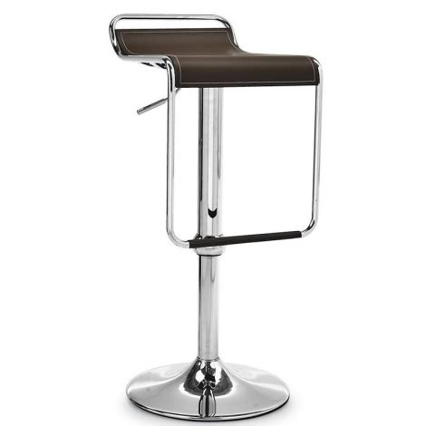 Tabouret Bar Cuir by Tabouret En Cuir Pivotant Et R 233 Glable Superstar