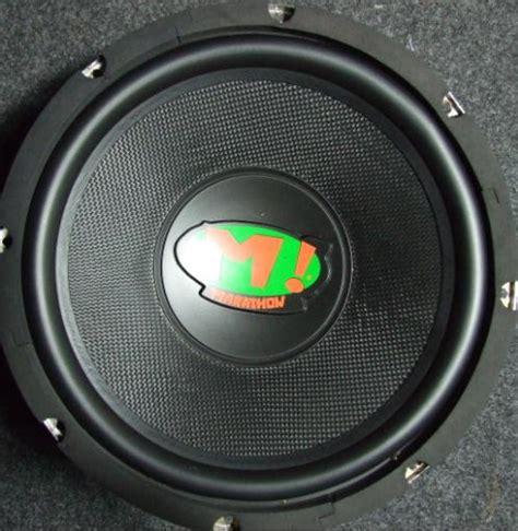 Speaker Subwoofer Mohawk sub woofer mohawk 10 quot เหล กหล อวอยซ ค sub woofer m