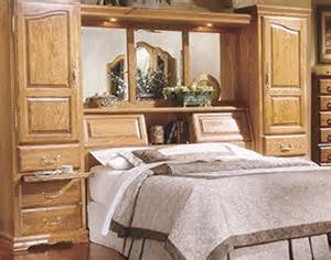king size wall unit bedroom set pier bed wall king size oak wall bed pier group