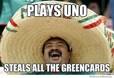 Mexican Christmas Meme - mexican joke uno funny pinterest