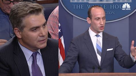 stephen miller nbc stephen miller clashes with wh reporter over immigration