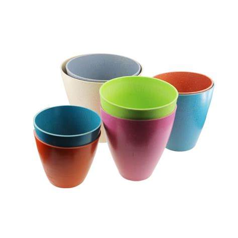 Eco Friendly Planters by Garden Pots Flower Pots Planters Eco Friendly Bamboo Fiber