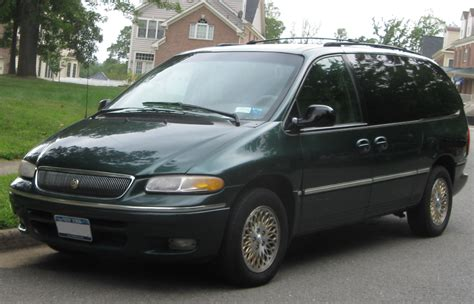 how cars engines work 1996 chrysler town country seat position control file chrysler town country 09 07 2009 jpg wikimedia commons