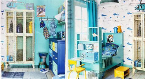 decoracion habitacion infantil turquesa habitaci 243 n infantil vintage en azul turquesa y amarillo