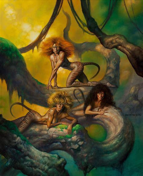 cal 2017 fantasy art of boris vallejo predators 1990 fantasy sci fi art boris vallejo predator and