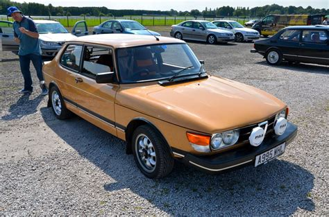 at the saab owners club gb annual meet part 1 inside