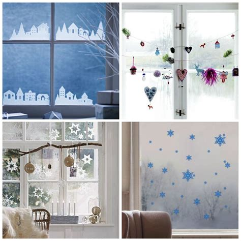 Exceptionnel Idee Decoration Interieur De Maison #3: stickers-noel-idee-deco-fenetre-design-moderne.jpg