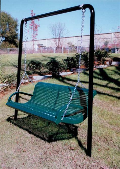 steel swing patio swings porch swings outdoor commercial grade