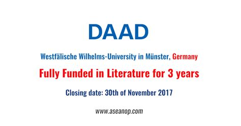 Phd Programs For Mba Graduates In Germany by Fully Funded Phd Scholarships At The Graduate School