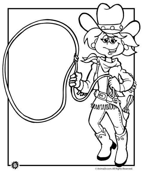 cowgirl coloring page cowgirl coloring page coloring home
