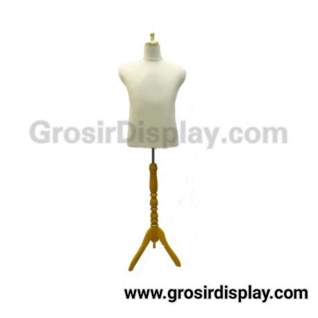Patung Manekin Display manekin patung cowok tiang kayu pajangan baju display toko