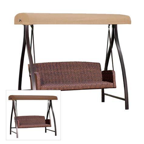 3 person futon swing costco