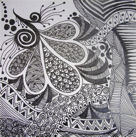 doodlebug painting pen painting 6 drawing by shilpi singh
