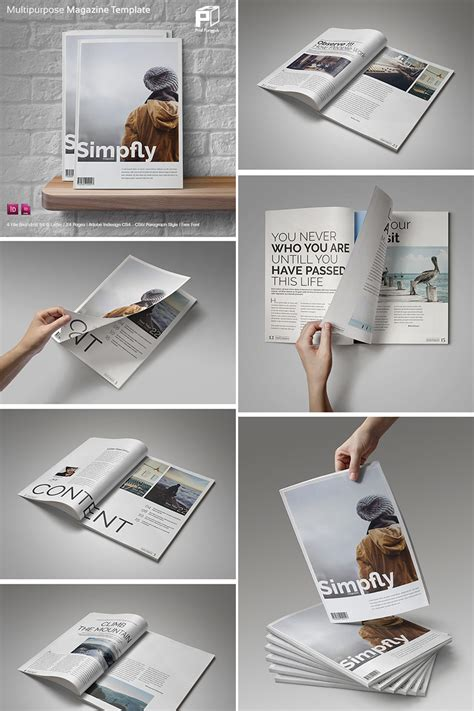 magazine layout design photography 20 magazine templates with creative print layout designs