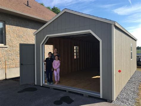portable garage shingled roof pt flooring