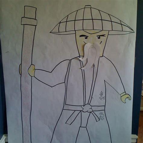 pin  beard  sensei wu   shabby eh bregans bday   ninjago party