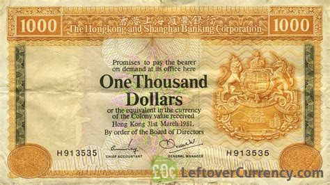 currency converter hong kong to usd 1000 hong kong dollars hsbc 1977 1983 exchange yours