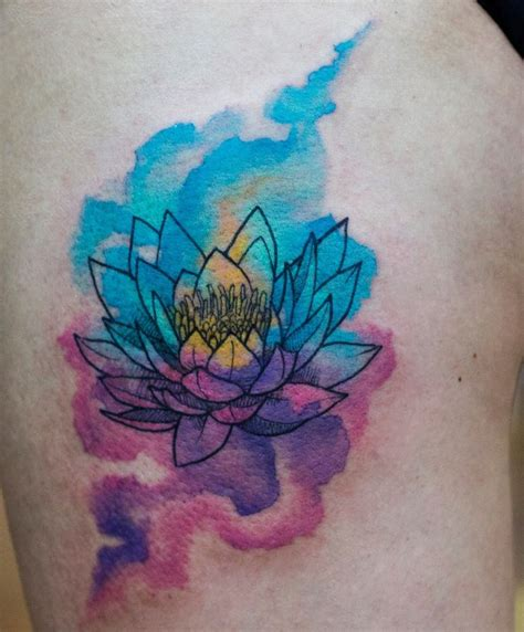 lotus watercolor tattoo 25 best ideas about watercolor lotus on