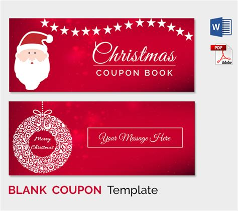 coupon card template word blank coupon templates 26 free psd word eps jpeg