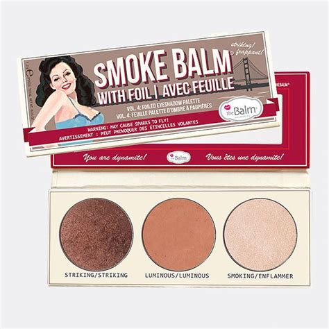 The Balm Smoke Balm With Foil I Avec Feville Thebalm Smoke Balm With Foil Vol 4 Target Australia
