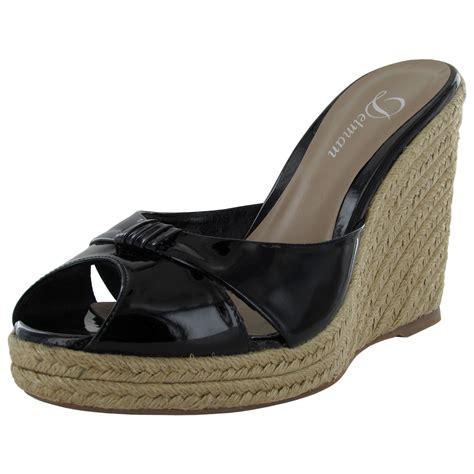 Jaime Shoes by Delman Womens Jaime Peep Toe Wedge Sandal Shoe Ebay