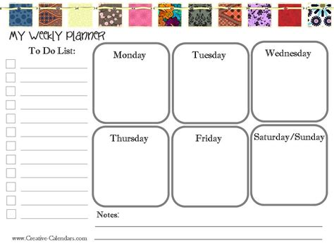 free printable planner maker awesome weekly calendar maker calendar
