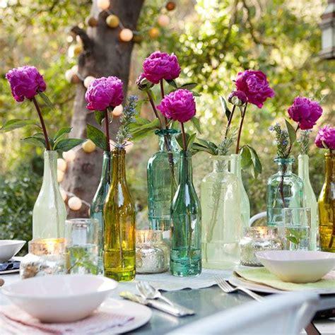 floreros con frascos floreros con frascos y bombitas de luz casa l ho