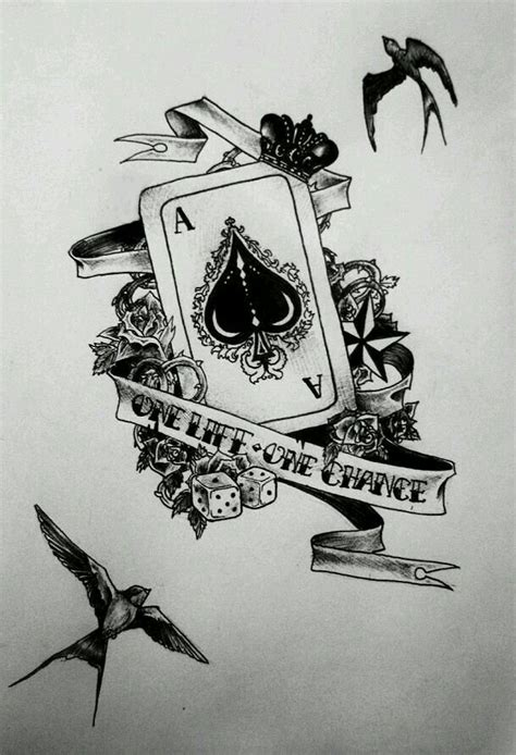 one life one chance tattoo designs one one chance ideias for skin