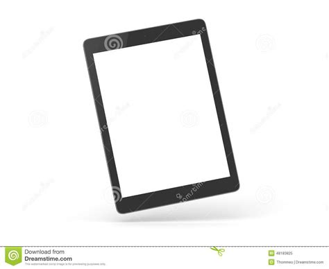 ipad air isolated stock photo image