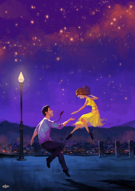 la la land fans lalaland tu na on artstation at https www artstation