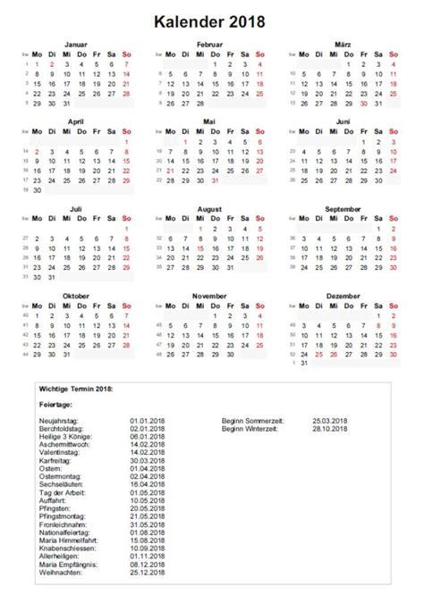 Jahreskalender Mit Kw Jahreskalender 2018 Schweiz Mit Kalenderwochen Vorlage
