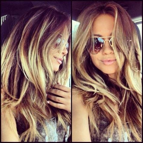 ombre highlights and lowlights for brown hair 25 best images about highlights ombr 233 on pinterest