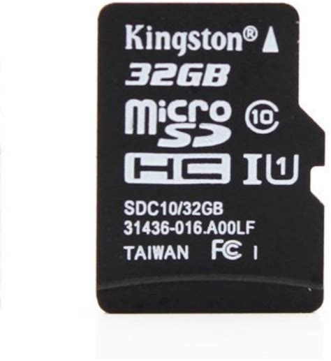 Memory Micro Sd Kingston 32gb Class10 Sdc10 1 kingston 32 gb microsdhc class 10 80 mb s memory card kingston flipkart