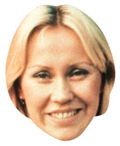 Mask Packs Agneta by Abba Archives Cardboard Cutouts