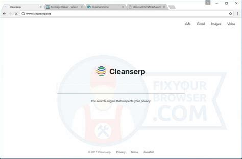 Detox Your Chrome Explorer by Cleanserp Net Redirect How To Remove Chrome Ie Firefox