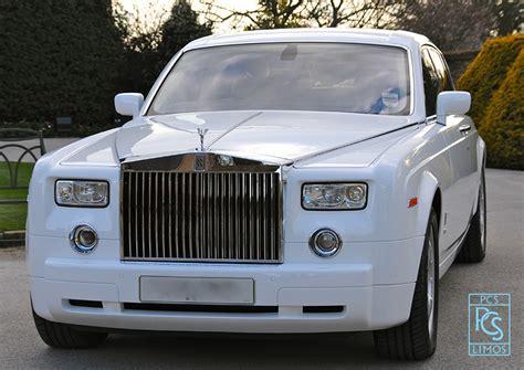 white rolls royce phantom hire wedding car rolls royce