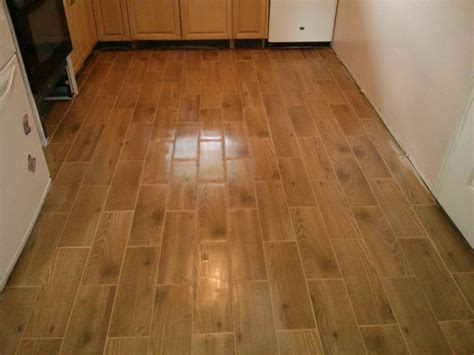 Porcelain Tile Installation Floor Installation Photos Wood Look Porcelain Tile In Levittown