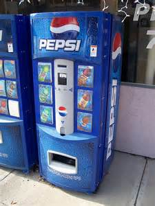 pepsi vending machine photo