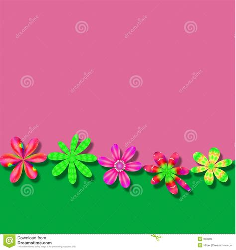wallpaper green pink floral pink green flower frame wallpaper background royalty free
