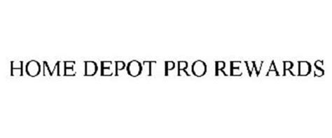 home depot pro rewards trademark of homer tlc inc