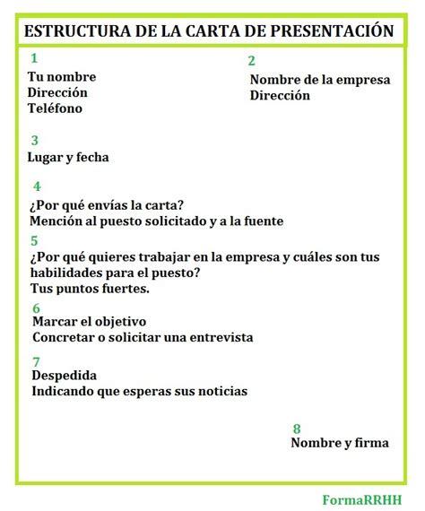 Modelo De Carta De Presentacion Para Un Curriculum Formarrhh Carta De Presentacion
