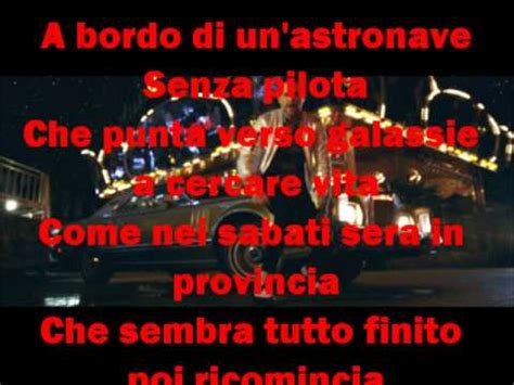 jovanotti ti porto via con me with lyrics doovi