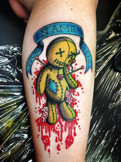 voodoo doll tattoos voodoo tattoos designs ideas and meaning tattoos for you