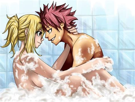 bathroom anime porn natsu and lucy bubble bath natsu dragneel and lucy