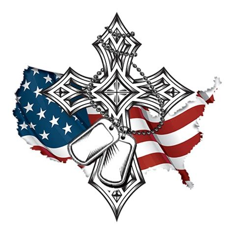 coolest cross army flag and awesome tag design ideas to choose from