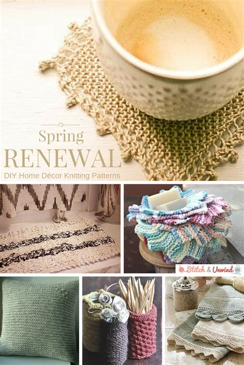 renewal diy home d 233 cor knitting patterns stitch