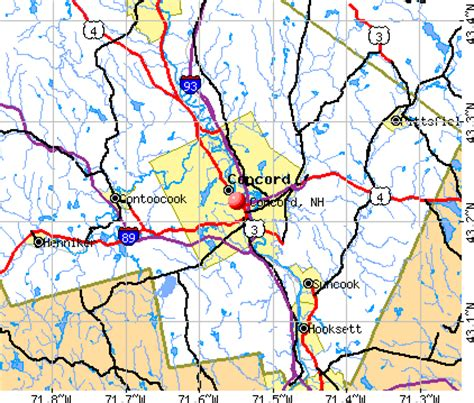 concord nh map concord new hshire nh 03301 03303 profile