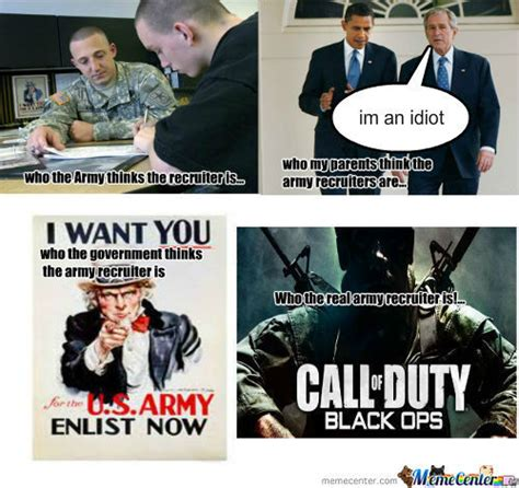 Army Recruiter Meme - rmx the real recruiter by lucasbentley meme center