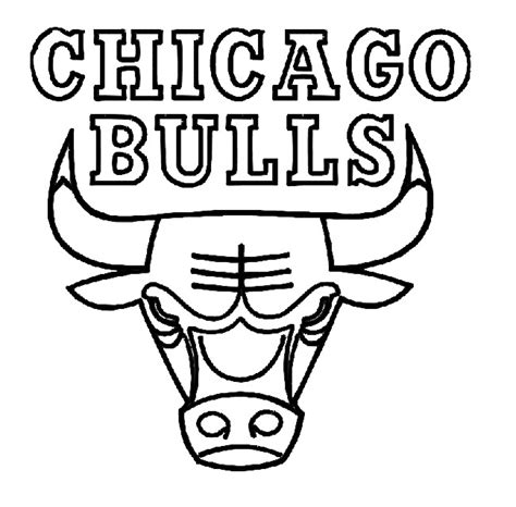 Chicago Bulls Coloring Page Coloring Pages Pinterest Golden State Logo Coloring Pages